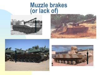 Muzzle brakes (or lack of)