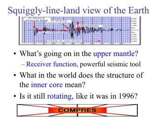 Squiggly-line-land view of the Earth