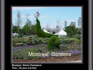 Montreal Gardens