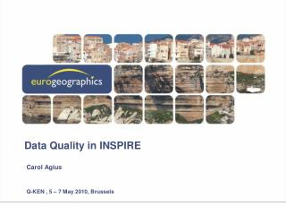 Data Quality in INSPIRE