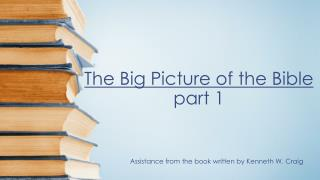 The Big Picture of the Bible part 1