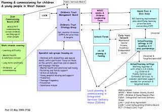 Children's Trust Management Board & Children's Trust Strategy Group Set, monitor & review