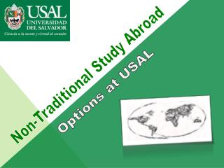 Non-Traditional Study Abroad