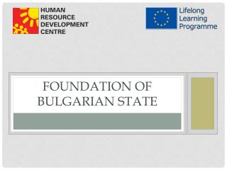 Foundation of Bulgarian state