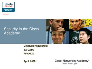Security in the Cisco Academy
