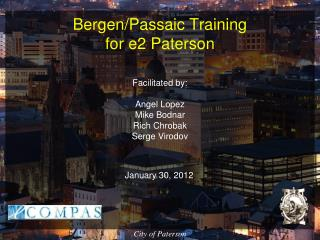 Bergen/Passaic Training  for e2 Paterson