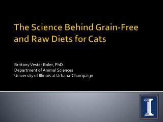 The Science Behind Grain-Free and Raw Diets for Cats