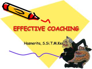 EFFECTIVE COACHING