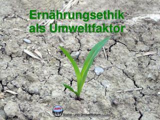 Ernährungsethik als Umweltfaktor