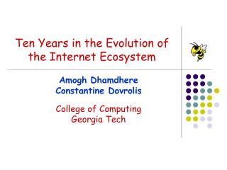 Ten Years in the Evolution of the Internet Ecosystem