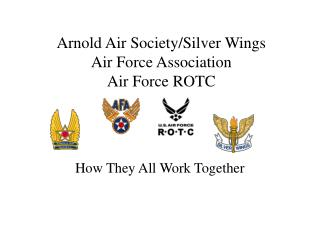 Arnold Air Society/Silver Wings Air Force Association Air Force ROTC