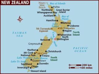 New Zealand Northern Island