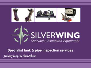Specialist tank & pipe inspection services