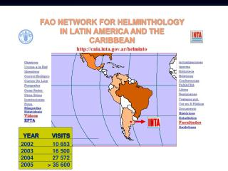 FAO NETWORK FOR HELMINTHOLOGY IN LATIN AMERICA AND THE CARIBBEAN