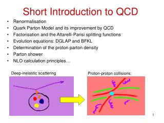Short Introduction to QCD
