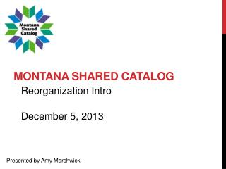 Montana Shared Catalog