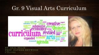 Gr. 9 Visual Arts Curriculum