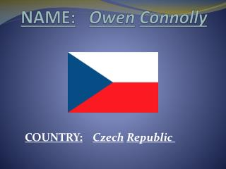 NAME: Owen Connolly