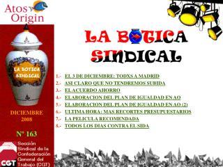 1.- EL 3 DE DICIEMBRE: TODXS A MADRID 2.- ASI CLARO QUE NO TENDREMOS SUBIDA
