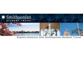 Smithsonian Student Travel