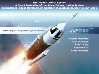 The Jupiter Launch System A Direct Derivative of the Space Transportation System