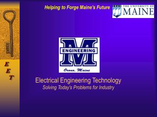 Electrical Engineering Technology Solving Today's Problems for Industry