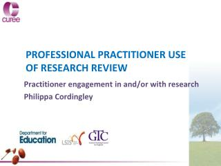 PROFESSIONAL PRACTITIONER USE OF RESEARCH REVIEW