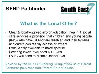 What is the Local Offer?