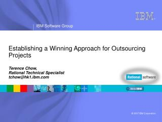 Establishing a Winning Approach for Outsourcing Projects