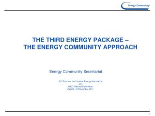 ON THE COMMUNITY AND ITS TREATY EU energy policy as energy policy of Europe