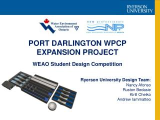 PORT DARLINGTON WPCP EXPANSION PROJECT