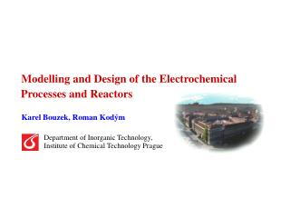 Modelling and Design of the Electrochemical