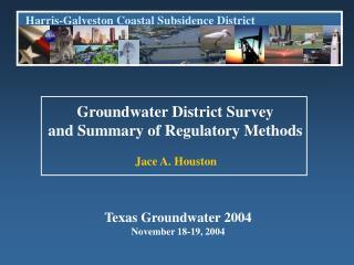 Harris-Galveston Coastal Subsidence District