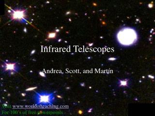 Infrared Telescopes