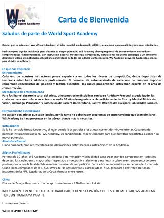 Ppt Carta De Bienvenida Powerpoint Presentation Id6974897