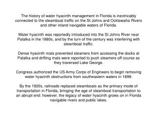 Golden Age of Sternwheeler Steamboats St Johns and Ocklawaha Rivers