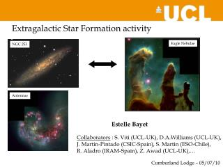 Extragalactic Star Formation activity