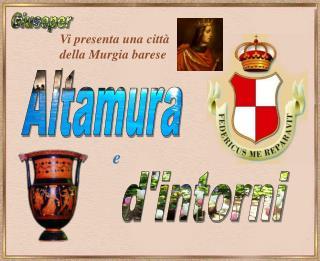 Vi presenta una città della Murgia barese :