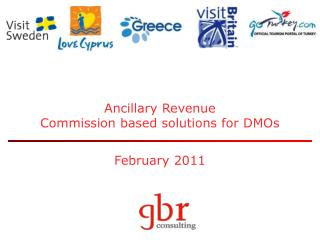 Ancillary Revenue Commission based solutions for DMOs February 2011