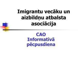 Imigrantu vecāku un aizbildņu atbalsta asociācija