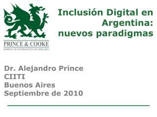 Inclusión Digital en Argentina: nuevos paradigmas