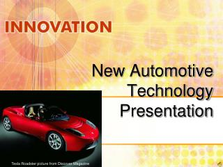 New Automotive Technology Presentation