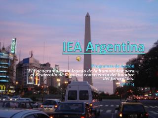 IEA Argentina