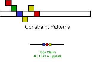 Constraint Patterns