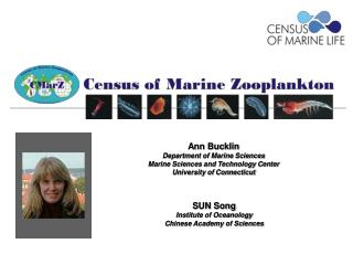 Ann Bucklin Department of Marine Sciences Marine Sciences and Technology Center