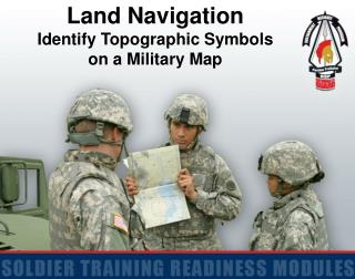 Land Navigation Identify Topographic Symbols  on a Military Map