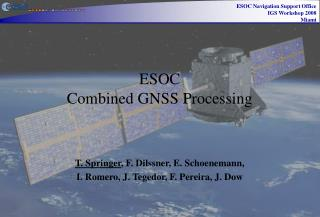 ESOC  Combined GNSS Processing