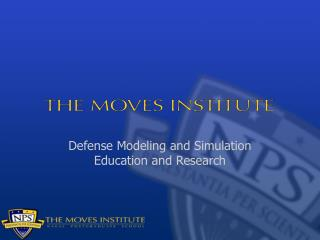 Defense Modeling and Simulation Education and Research