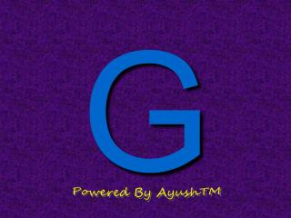 Powered By AyushTM