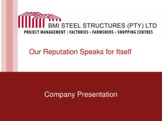 BMI Steel Structures